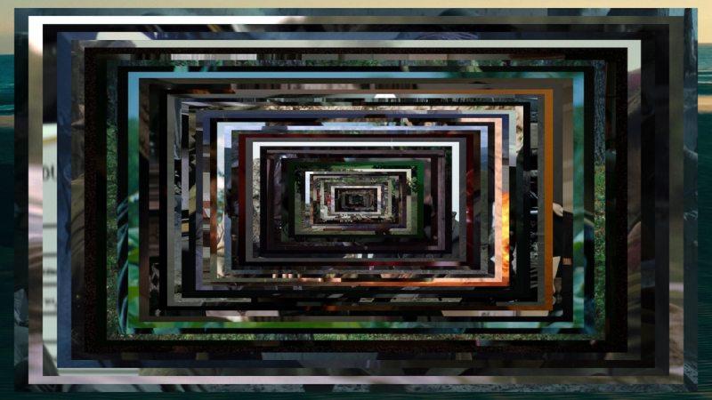 Christian Marclay, 48 War Movies (still) -- installation @ Paula Cooper Gallery