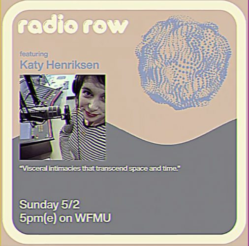 Explore visceral intimacies that transcend space and time with guest DJ Katy Henriksen, who hosts the Sound Off podcast, on music that challenges the status quo.