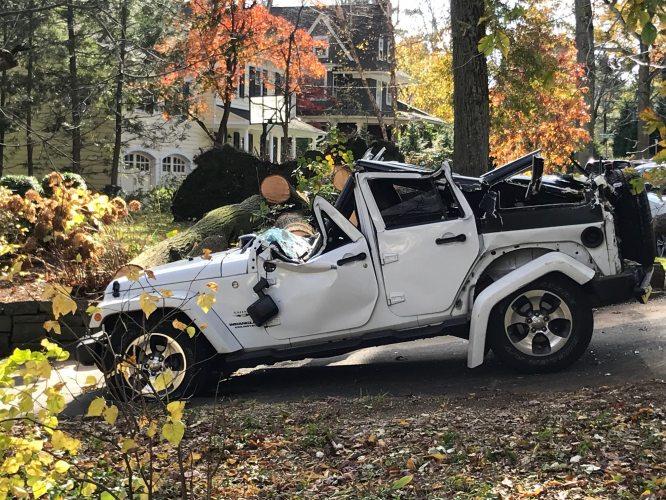 Andy Breckman is Now a Tornado Survivor. This might have been his car.
