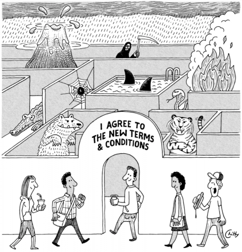 by Tom Chitty, for the New Yorker