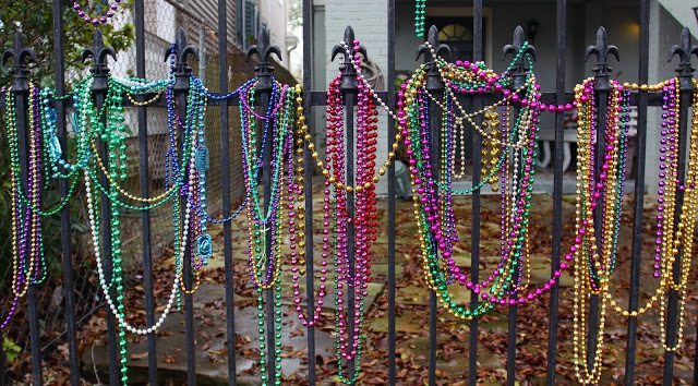 Can Mardi Gras beads be recycled? Serious question!