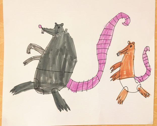 Rats by Listener Ramona, Age 6
