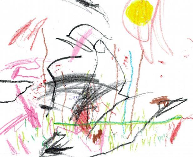 Sneaky Snake by IVO, age 3. Send your art (and anything else) to Doubledip@wfmu.org