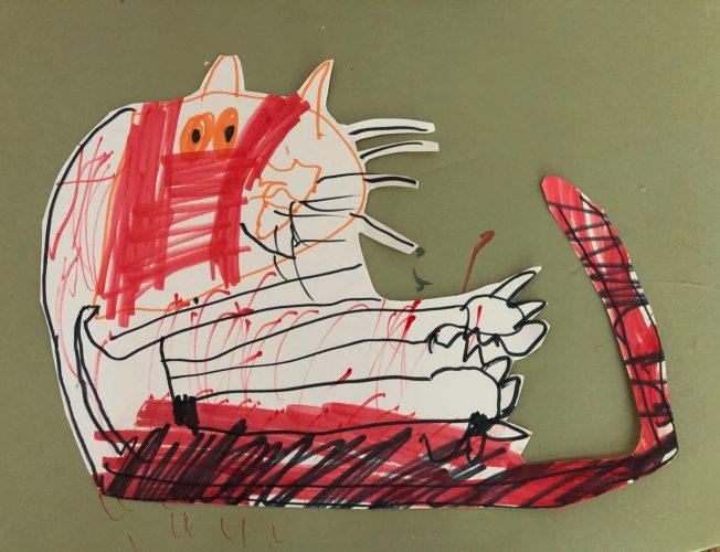 My Stuffed Tiger by Ajax, age 5