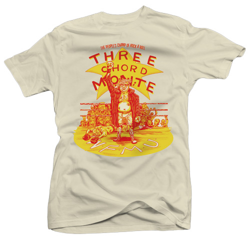 16813963 Three Chord Monte presents the Three Chord Monte 2019 T-shirt! Brand new  shirt designed by a real rock and roll star, Spencer Alexander of Wyldlife!